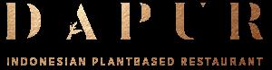 Dapur Logo mit Claim Restaurant Zurich